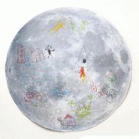 Maak een tekening op de maan - gratis download! Gewoon leuker