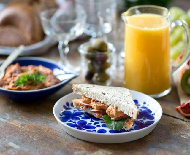 Glutenfritt bröd och veganska pålägg | UnderbaraClara | Bloglovin'
