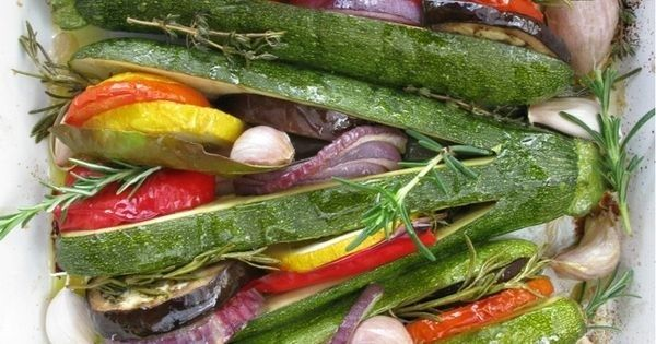 Summer Vegetable Tian in a Zucchini Fan | L'OCCITANE en Provence