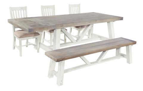 Powick Fixed Top Dining Table #Meyerandmarsh