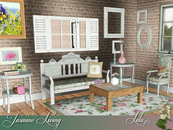A Garage Sale Set For You , A Little Bit Chic And A Lot Shabby Found In TSR  Category U0027Sims 3 Living Room Setsu0027 Part 50