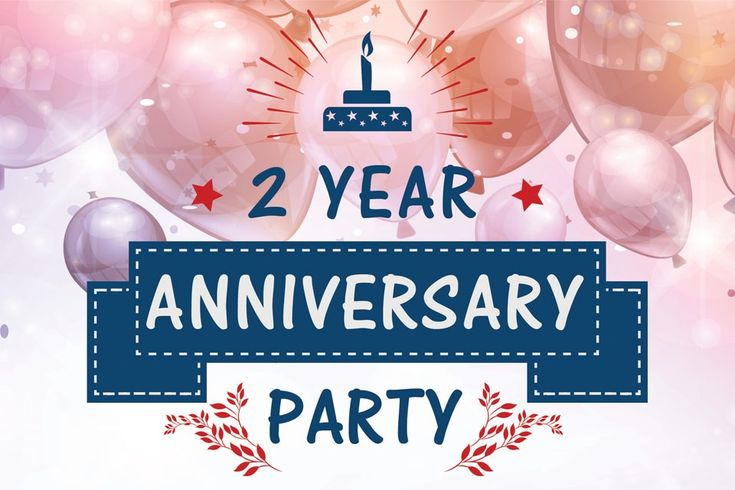 2 YEAR ANNIVERSARY PARTY (Aberdeen) - Heading and logo design for the dates-n-mates Aberdeen branch's 2 year Anniversary Party. #logo #branding #identity #heading #Aberdeen #Anniversary #Party
