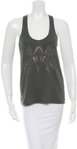 Stella McCartney Embroidered Tank Top