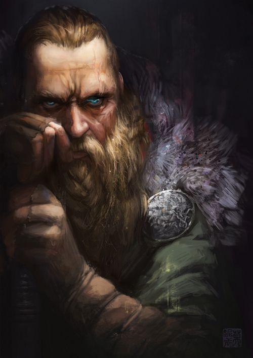 Viking by saharaam.deviantart.com on @deviantART