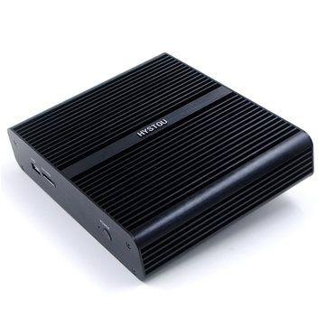 Hystou FMP05B 3.5GHz Intel Core I7-7500U 8GB/128GB HDMI WIFI DP Port 4K Fanless Mini PC Sale - Banggood.com