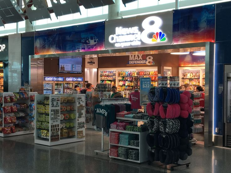 News Channel 8 store opens at Tampa International Airport | WFLA.com