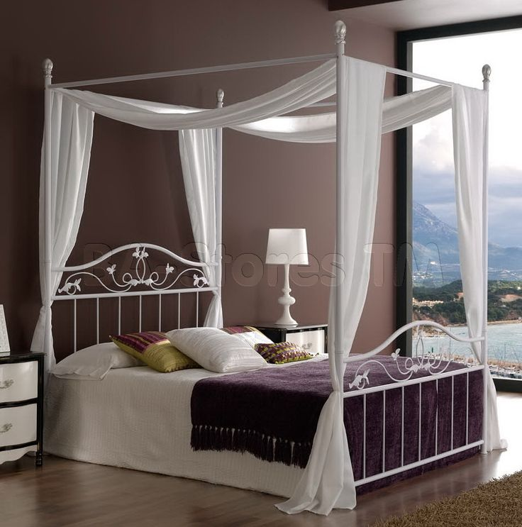 Large Bed Canopy best 25+ iron canopy bed ideas on pinterest | canopy beds
