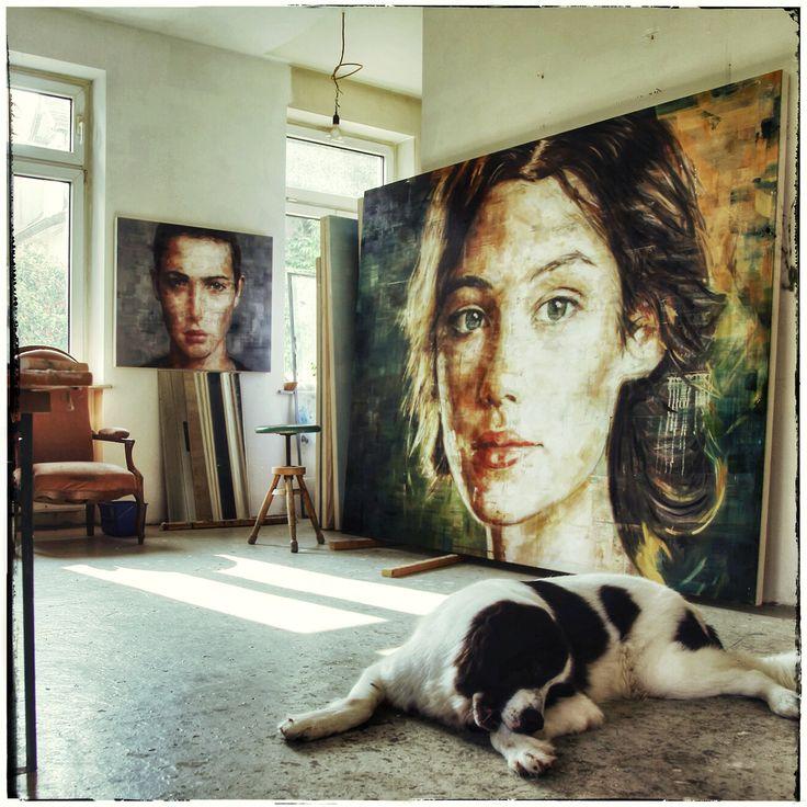 HARDING MEYER http://www.widewalls.ch/artist/harding-meyer/ #contemporary #art #painting