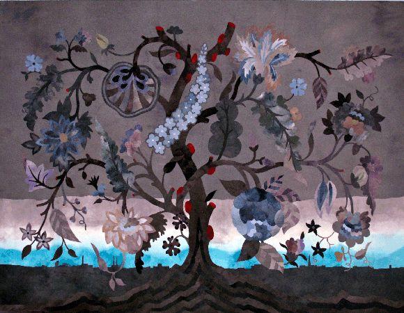 morkt-tre Inger Johanne Rasmussen  Textile Artist