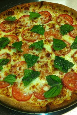 Great takeout pizza!