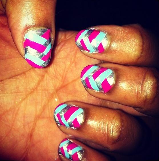 #Fishtale Nail Design #NailArt