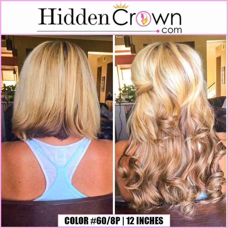 Hidden Crown Hair Extensions blend so wonderfully.  Colors like these even add instant highlights and lowlights.