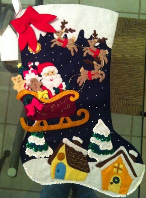 Bota navideña | Creatividad Pastelito