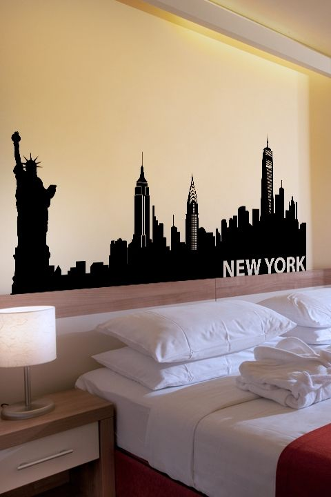 New York Wall Decals. Best 25  New york bedroom ideas on Pinterest   Dream apartment