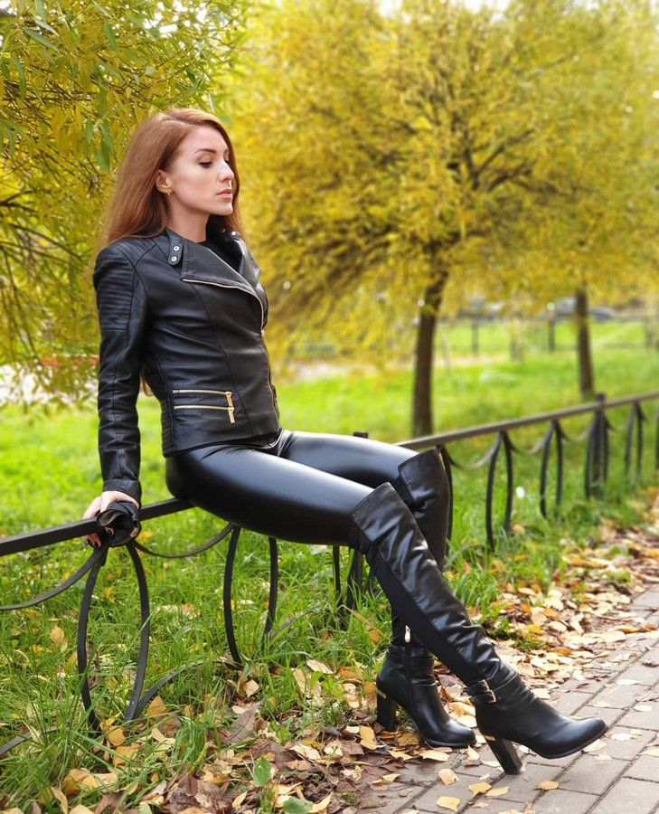 Pin by Joze Krtic on Leather outfit in 2019 | Leather tights
