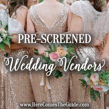 Prescreened Santa Barbara wedding vendors