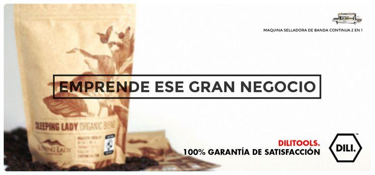 MEJORA LA CALIDAD DE LOS PRODUCTOS QUE VENDES, DILI TOOLS TE OFRECE HERRAMIENTAS PARA TU PRODUCTIVIDAD Y CALIDAD. SELLADORA PARA CUALQUIER TIPO DE BOLSAS. #emprende #negocio #selladora #selladoradebolsas #semillas #cafe #granos #polvo