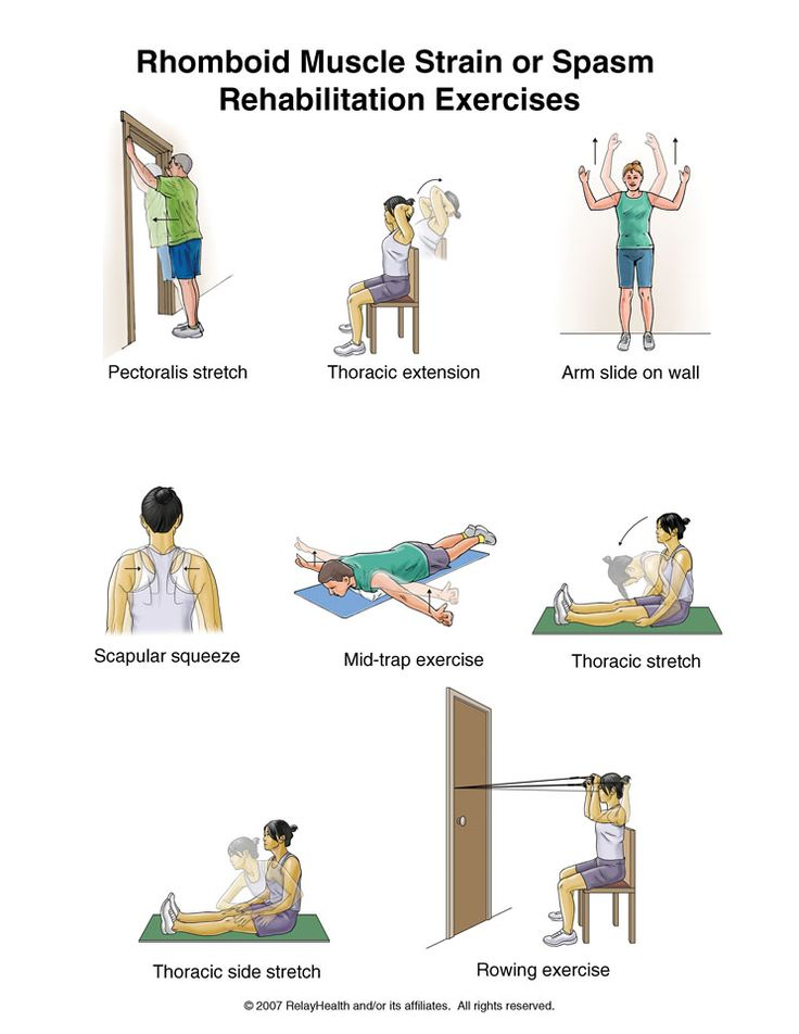 Neck Rehabilitation Exercises Printable