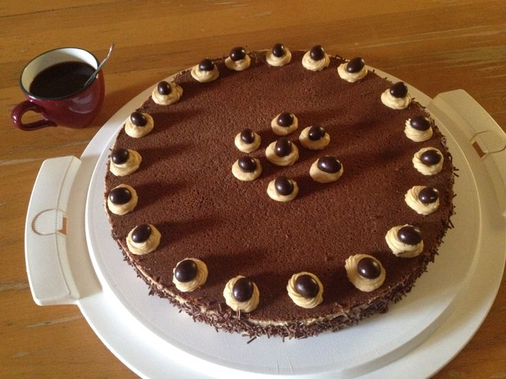 Choco coffee addicted cake! ☕️