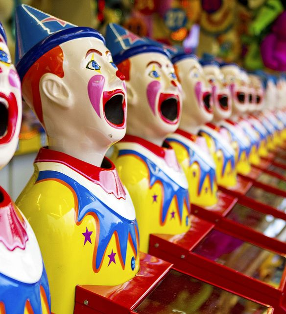 I loved these guys when I was a kid ... I spent so much of my pocket money on them once a year when we went to the Royal Adelaide Show