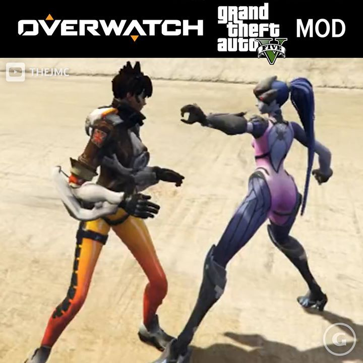 Cheers, love! Overwatch + Grand Theft Auto V mods are here. #ElectronicsStore