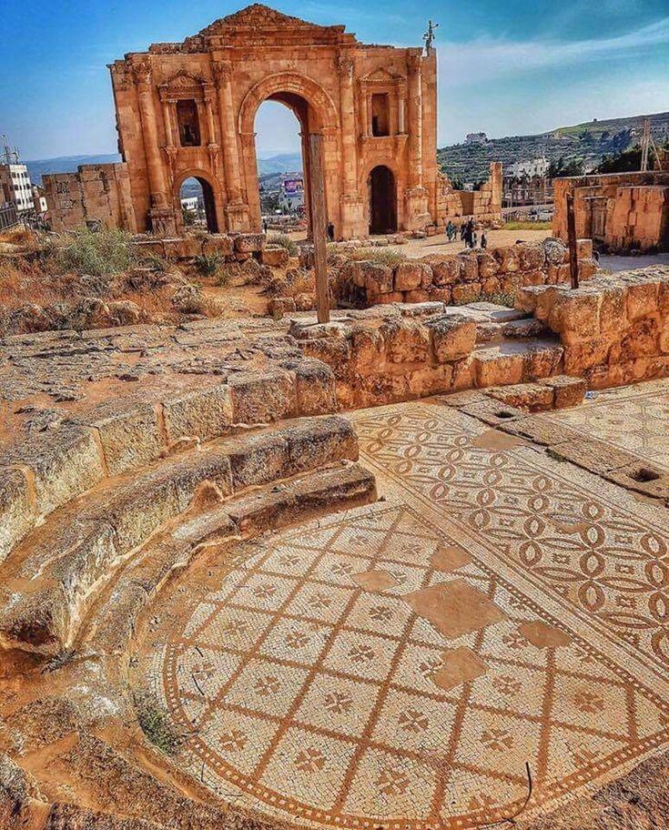 Jerash, Jordan.