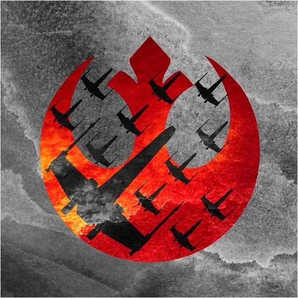 Star Wars Rebel Logo Wraith Squadron Pillow