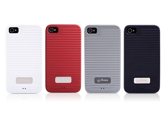 Diseño ondulado para un estilo agregado.  Excelente sensación y protección. 0.6mm carcaza ultra delgada de perfecta medida para tu iPhone 4/4S. Colores disponibles: negro, rojo y blanco.