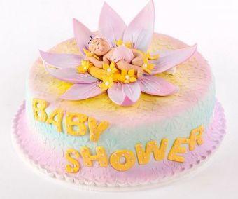 Torta de baby shower personalizada