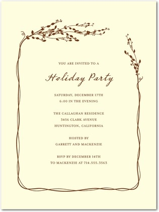 14 best christmas party invite examples images on Pinterest - holiday party invitation