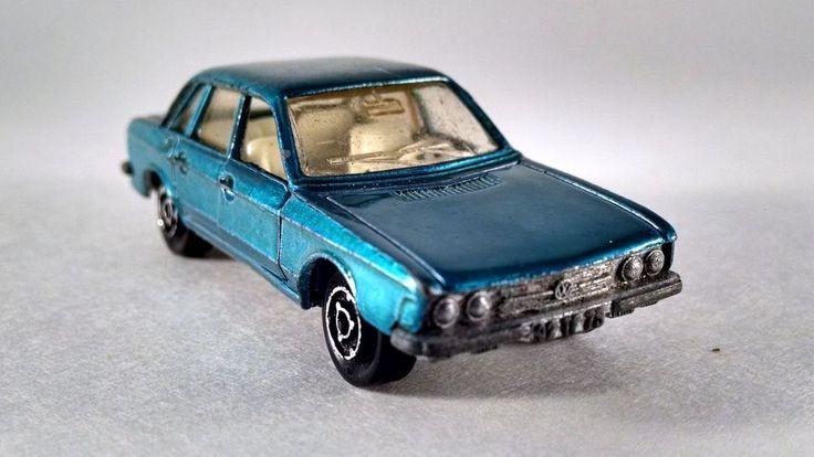 O Connor Chrysler >> 1970s Majorette VW K70 no 210 France Great Shape Doors Open Vintage Blue Car #Majorette # ...