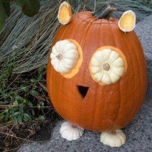 Owl Pumpkin / Сова из тыквы