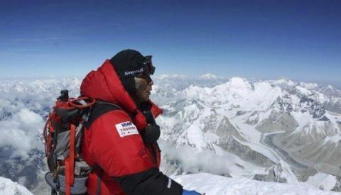Un anciano japonés llegó a la cumbre del Everest