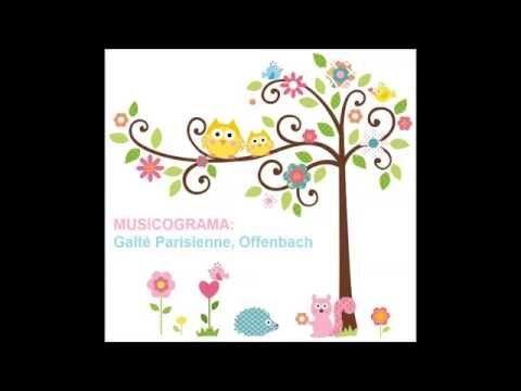 Musicograma Offenbach para niños