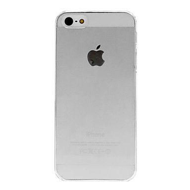 Caso duro transparente de la calidad para el iPhone 5/5S – USD $ 1.99