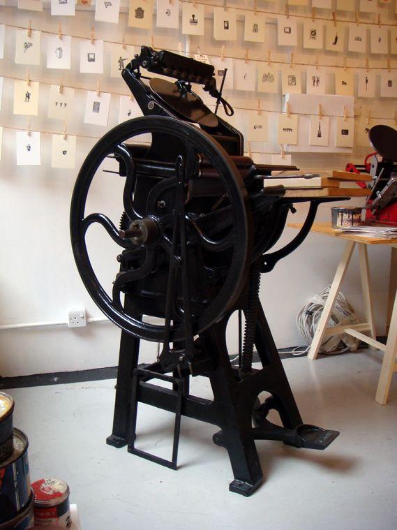 mr printing machine