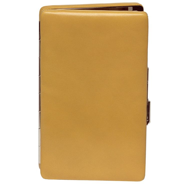 Frame Wallet with Chain - Mustard