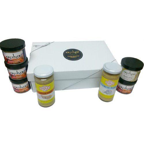 Indian Spices Gourmet Sampler Gift - http://spicegrinder.biz/indian-spices-gourmet-sampler-gift/