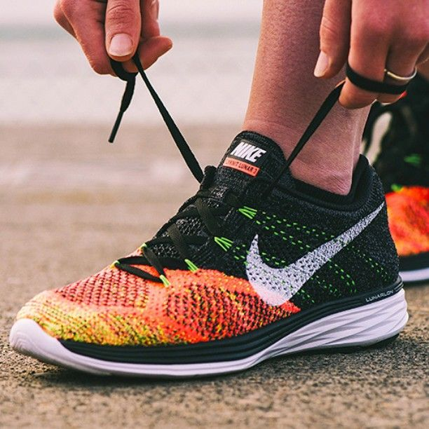 Cushioned for cruise control.  The #flyknit Lunar 3 features a Lunarlon sole and dynamic Flywire, making any run about the destination, not the distance.  Available on nike.com. Hit the link in our bio.