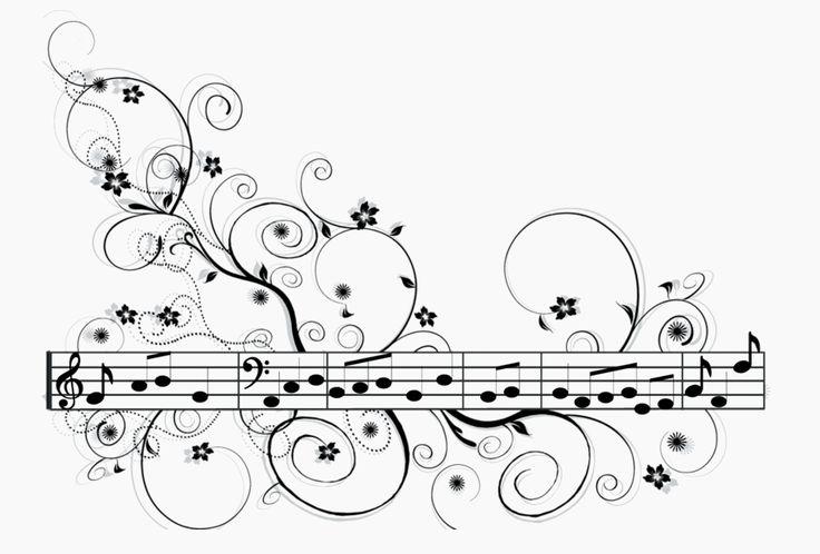 Fete de la musique -notes - portée                                                                                                                                                      Plus