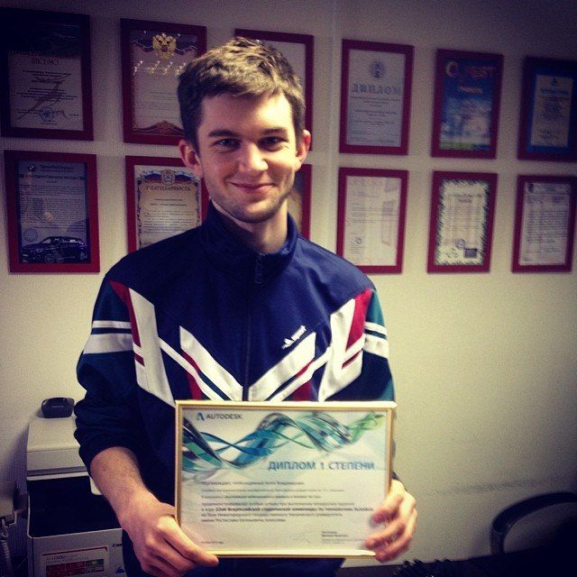 Our designer Anton Kolodyazhnyy took the 1st place in All-Russia students competition of 3Dx Max & animation! #DreamLaser