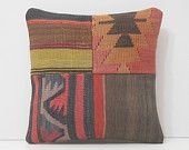 turkish pillow cover unique throw pillow oversized throw pillow bohemian pillow oversized floor pillow bohemian patchwork kilim pillow 16709