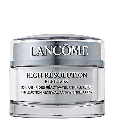 Lancome High Resolution Refill3X Triple Action Renewal AntiWrinkle Cream SPF 15 #Dillards