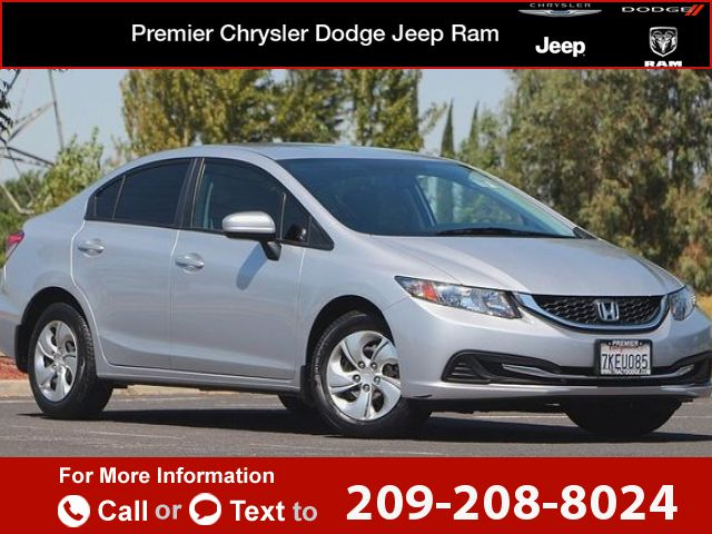 2015 *Honda*  *Civic* *Sedan* *LX*  39k miles Call for Price 39799 miles 209-208-8024 Transmission: Automatic  #Honda #Civic Sedan #used #cars #PremierCDJRTracy #Tracy #CA #tapcars