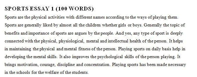 موضوع بالانجليزي عن الرياضة 5 نماذج قصيرة وطويلة هات التعليمية This Or That Questions Different Words 100 Words