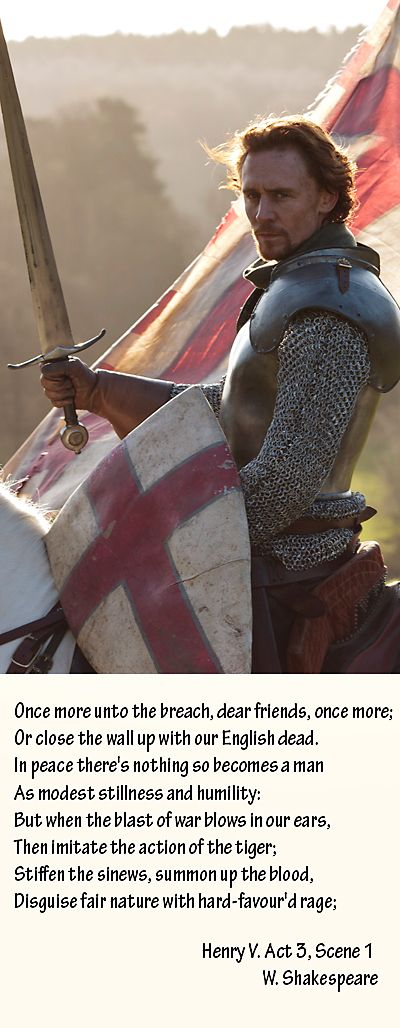 """Tom Hiddleston - Henry V - The Hollow Crown - """"Once More Unto The Breach"""". Audio: https://soundcloud.com/roryobasan/tom-hiddleston-henry-v-the"""