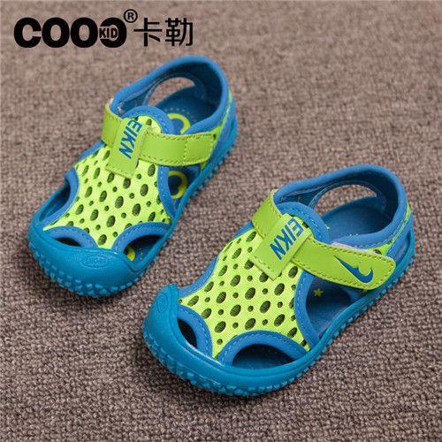 J.g чен скольжение на спорт удобные брезент сандалии для мальчики и девочки 26 - 30 дети обувь вырезы