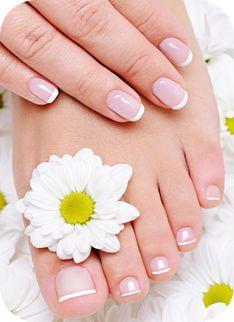 Soft manicure & pedicure!