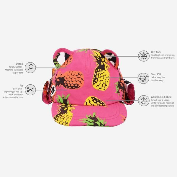 179ec2abbfb Little Hotdog Watson - The Cub Kids Kepie Hat.  littlehotdogwatson  kidshat   kidssunhat