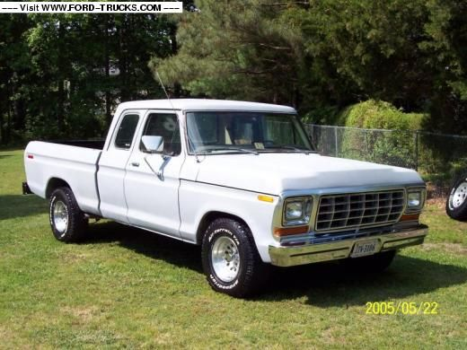 1978 Ford Supercab Maintenance Restoration Of Old Vintage
